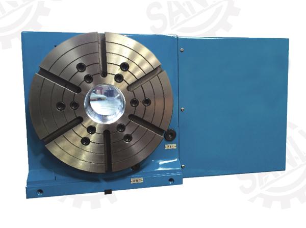 SKT13(250-630)EL系列立卧两用(大通孔)数控转台,分度盘