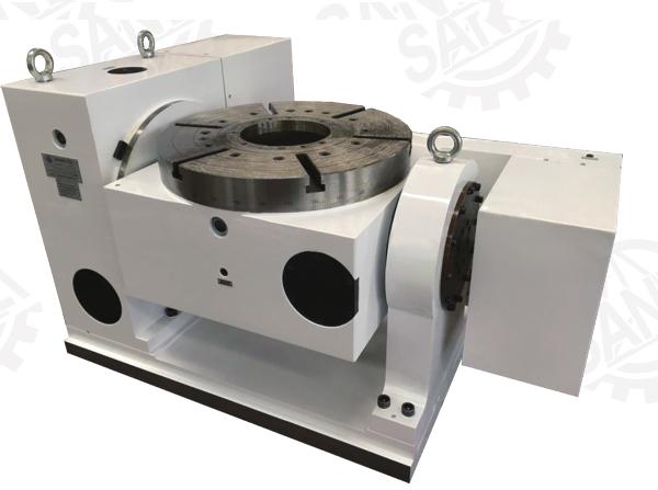 SKT14(170-800)系列数控可倾回转工作台(双轴数控转台)第五轴
